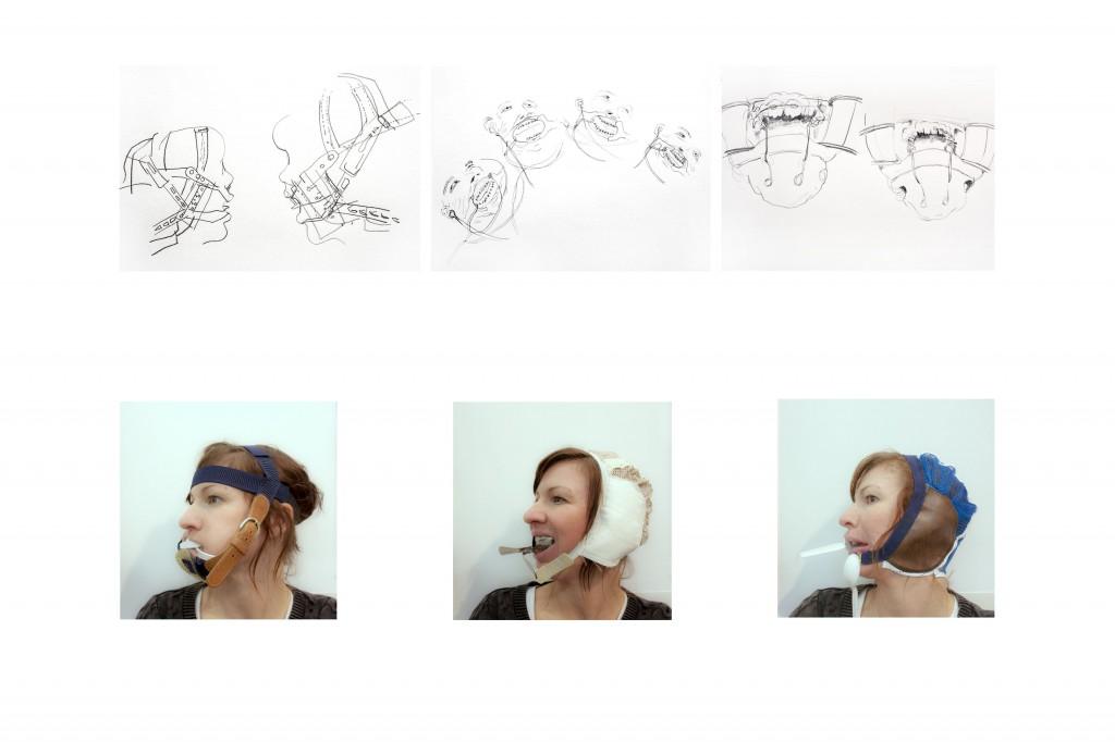 Head Gear Studies © Corinne Thiessen-Hepher